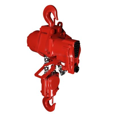 Heavy Duty Air Chain Hoists Red Rooster TMH